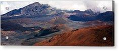 Haleakala Volcano Acrylic Print