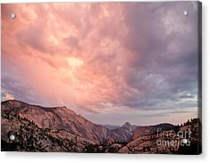 Half Dome From Olmsted Point Acrylic Print
