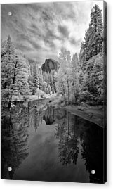 Half Dome Acrylic Print by LiorDrZ© Photography