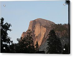 Half Dome Yosemite National Park Acrylic Print by Remegio Onia