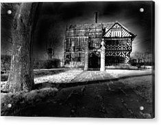 Hall 'ith Wood Manor  Acrylic Print by Matt Nuttall