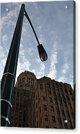 Hall Light Acrylic Print by Peter Chilelli