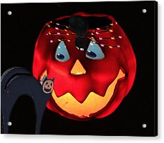 Halloween Fun Art Acrylic Print by Debra     Vatalaro