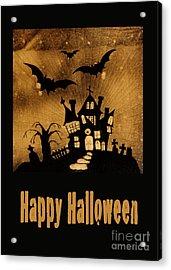Halloween Quilt Top Acrylic Print