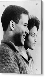 Hamilton Holmes And Charlayne Hunter Acrylic Print by Everett