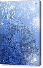 Hanabi Acrylic Print