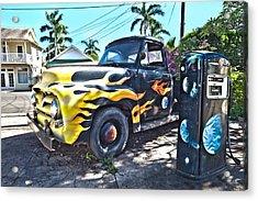 Hanapepe Truck Acrylic Print