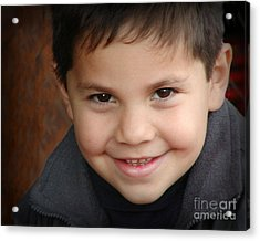 Handsome Boy Acrylic Print