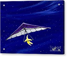 Hang Gliding Star Acrylic Print by Kerri Ertman