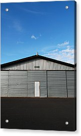 Acrylic Print featuring the photograph Hangar 2 by Kathleen Grace