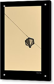 Hanging Light Acrylic Print by Xoanxo Cespon