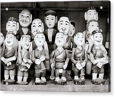 Hanoi Water Puppets Acrylic Print by Shaun Higson