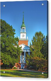 Hanover College II Acrylic Print by Steven Ainsworth