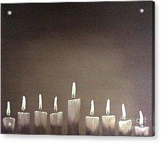 Hanukkah Acrylic Print by Annemeet Hasidi- van der Leij
