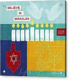 Hanukkah Miracles Acrylic Print