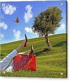 Happiness Of Summer Acrylic Print by Joana Kruse