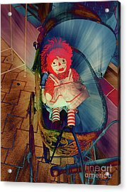 Happy Dolly Acrylic Print by Susanne Van Hulst