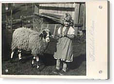 Happy Easter 1935 Acrylic Print