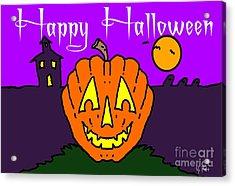 Happy Halloween 2 Acrylic Print by George Pedro