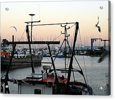 Acrylic Print featuring the photograph Harbor by Rdr Creative
