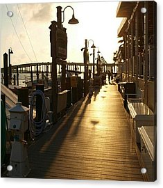 Harbor Walk Destin Florida Acrylic Print