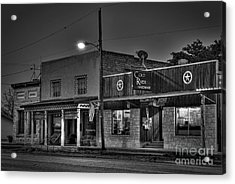 Hardware Store In Small Town Usa Acrylic Print by Andre Babiak