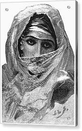 Harem Woman, 19th Century Acrylic Print by Granger