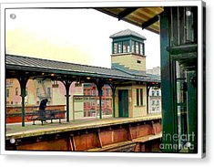 Harlem Scene Acrylic Print by Susan  Lipschutz