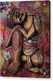 Harmony In Silence Acrylic Print by Joachim G Pinkawa
