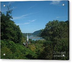 Harper's Ferry Long View Acrylic Print by Mark Robbins