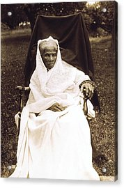 Harriet Tubman 1820-1913 In Old Age Acrylic Print by Everett