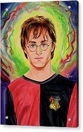 Harry Potter Acrylic Print by Ken Meyer