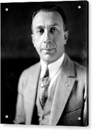 Harry Warner, 1881-1958, Co-founder Acrylic Print by Everett