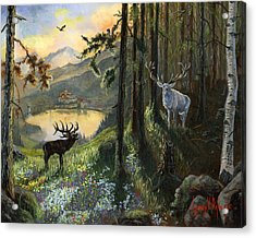 Harts Gambit Acrylic Print by Jeff Brimley