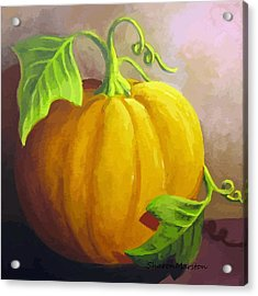Harvest Prize Acrylic Print by Sharon Marcella Marston