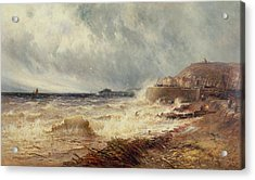 Hastings Acrylic Print by Gustave de Breanski