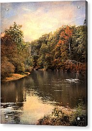 Hatchie River Acrylic Print by Jai Johnson
