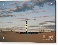 Hatteras Lighthouse And The Smiling Dune Acrylic Print
