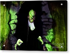 Haunted Butler Acrylic Print by Darleen Stry