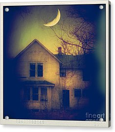 Haunted House Acrylic Print by Jill Battaglia