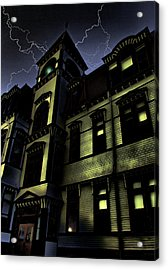 Haunted House Acrylic Print by Mark Sellers