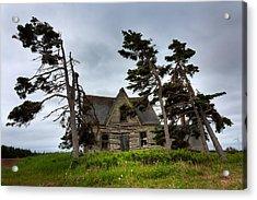Haunted House Acrylic Print by Matt Dobson