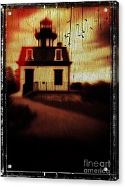 Haunted Lighthouse Acrylic Print by Edward Fielding