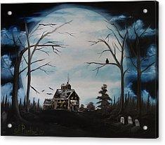 Haunted Mansion 2006 Acrylic Print by Shawna Burkhart