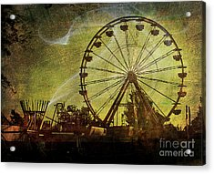 Haunted Midway Acrylic Print