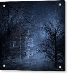 Haunted Place Acrylic Print by Svetlana Sewell