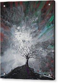 Haunted Tree Acrylic Print