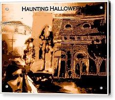 Haunting Halloween Acrylic Print by Marian Hebert