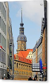 Hausmannsturm - Lookout Of A Castle With Stunning Views Acrylic Print by Christine Till