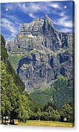 Acrylic Print featuring the photograph Haute Savoie by Rod Jones